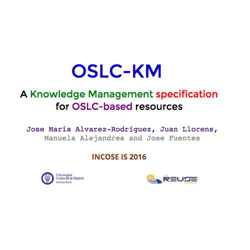 OSLC‐KM: A knowledge management specification for OSLC‐based resources